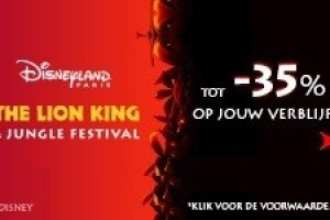 Mis The Lion King & Jungle Festival niet!