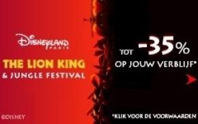 Mis The Lion King & Jungle Festival niet!
